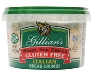 Gillian's Foods - Gluten Free Italian Bread Crumbs - 12 oz. by Gillian's Foods