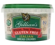 Gillian's Foods - Gluten Free Italian Bread Crumbs - 12 oz.
