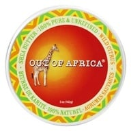 Out Of Africa - Organic Shea Butter Tin 100% Pure & Unrefined Wild Citrus - 5 oz.