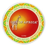 Image of Out Of Africa - Organic Shea Butter Tin 100% Pure & Unrefined Wild Citrus - 5 oz.
