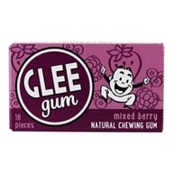 Glee Gum - All Natural Chewing Gum Mixed Berry - 16 Piece(s)