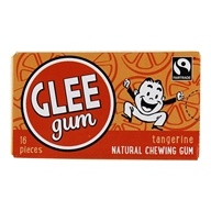 Image of Glee Gum - All Natural Chewing Gum Tangerine - 18 Piece(s)