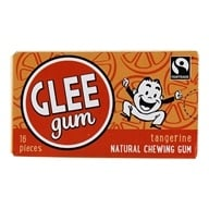 Glee Gum - All Natural Chewing Gum Tangerine - 16 Piece(s)