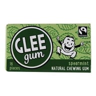 Image of Glee Gum - All Natural Chewing Gum Spearmint - 18 Piece(s)