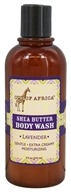 Out Of Africa - Organic Shea Butter Body Wash With Essential Oil Lavender - 9 oz.