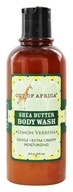 Image of Out Of Africa - Organic Shea Butter Body Wash With Essential Oil Lemon Verbena - 9 oz.