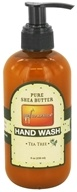 Out Of Africa - Organic Shea Butter Hand Wash With Essential Oil Tea Tree - 8 oz. (811966010251)