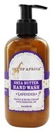 Out Of Africa - Organic Shea Butter Hand Wash With Essential Oil Lavender - 8 oz.