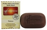 Out Of Africa - Pure Shea Butter Bar Soap Vanilla - 4 oz. by Out Of Africa