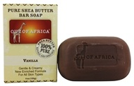 Out Of Africa - Pure Shea Butter Bar Soap Vanilla - 4 oz. (856044001240)