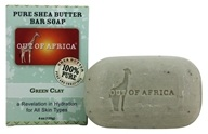 Out Of Africa - Pure Shea Butter Bar Soap Green Clay - 4 oz.