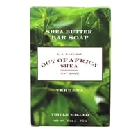 Out Of Africa - Pure Shea Butter Bar Soap Verbena - 4 ...