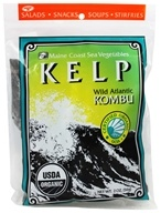 Image of Maine Coast Sea Vegetables - Wild Atlantic Kombu Kelp - 2 oz.
