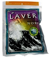 Maine Coast Sea Vegetables - Wild Atlantic Nori Laver - 1 oz. (034529123605)