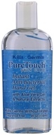 Image of Pure Touch Skin Care - Instant Anti-Bacterial Hand Gel Fragrance-Free - 4 oz.