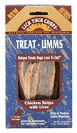 Lick Your Chops - Dog Treats Treat-Umms Chicken Strips With Liver - 2.5 oz.