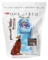 Image of One Earth Naturals - Dog Treats Peanut Butter - 22 oz.