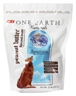One Earth Naturals - Dog Treats Peanut Butter - 22 oz. - $3.48