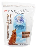 Image of One Earth Naturals - Dog Treats Brewers Yeast & Garlic - 22 oz.