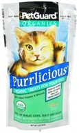 Image of Pet Guard - Organic Cat Treats Purrlicious - 3 oz.