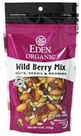 Eden Foods - Organic Wild Berry Mix Nuts, Seeds & Berries - 4 oz. (024182000924)