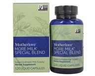Motherlove - More Milk Special Blend - 120 Vegetarian Capsules