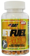 GAT - JetFuel Pyro Premium Fat-Burning Accelerator Professional Strength - 120 Capsules German American Technologies (859613000699)