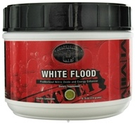 Controlled Labs - White Flood PreWorkout Nitric Oxide and Energy Enhancer Electric Lemonade - 0.7 lbs. by Controlled Labs