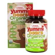 Hero Nutritional Products - Yummi Bears Organic Immunity Shield - 90 Gummies, from category: Nutritional Supplements