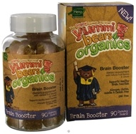 Hero Nutritional Products - Yummi Bears Organic Brain Booster - 90 Gummies