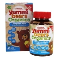 Hero Nutritional Products - Yummi Bears Organic Multi-Vitamin & Mineral - 90 Gummies - $15.39