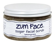 Image of Indigo Wild - Zum Face Sugar Facial Scrub Lemongrass - 5 oz.