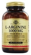 Solgar - L-Arginine Free Form 1000 mg. - 90 Tablets - $18.12