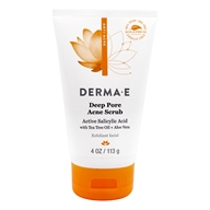 Derma-E - Very Clear Cleansing Scrub Exfoliant - 4 oz.