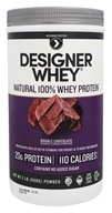 Designer Protein - Designer Whey 100% Premium Whey Protein Powder Double Chocolate - 2 lbs., from category: Sports Nutrition