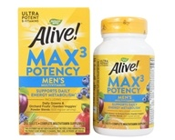 Nature's Way - Alive Men's Multi Max Potency - 90 Tablets (formerly Men's Multi Vitamin & Mineral Whole Food Energizer) (033674155424)