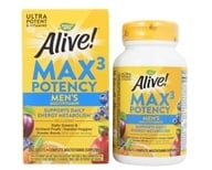 Nature's Way - Alive Men's Multi Max Potency - 90 Tablets (formerly Men's Multi Vitamin & Mineral Whole Food Energizer) - $14.35