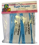 Pure Touch Skin Care - Individual Biodegradable Tush Wipes For Babies - 12 Packet(s)