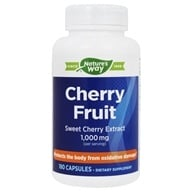 Enzymatic Therapy - Cherry Fruit Extract - 180 Capsules