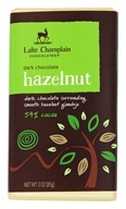 Lake Champlain Chocolates - Dark Chocolate Bar Hazelnut - 3 oz.