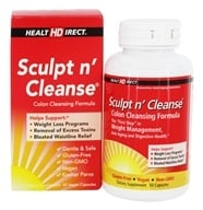 Image of Health Direct - Sculpt n' Cleanse Colon Cleansing Formula 450 mg. - 50 Capsules