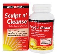 Image of Health Direct - Sculpt n' Cleanse Colon Cleansing Formula 450 mg. - 100 Capsules