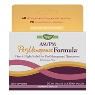 Enzymatic Therapy - AM/PM PeriMenopause Formula - 60 Tablets - $11.98