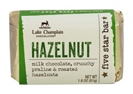 Lake Champlain Chocolates - Five Star Chocolate Bar Hazelnut - 1.8 oz.