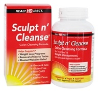 Image of Health Direct - Sculpt n' Cleanse Colon Cleansing Formula 450 mg. - 175 Capsules
