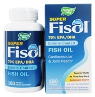 Nature's Way - Super Fisol Fish Oil - 180 Softgels, from category: Nutritional Supplements