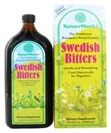NatureWorks - Swedish Bitters Original Extract Formula - 33.8 oz. by NatureWorks