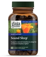 Gaia Herbs - Sound Sleep Liquid Phyto-Caps - 120 Vegetarian Capsules, from category: Herbs