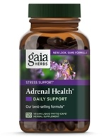 Image of Gaia Herbs - Adrenal Health Liquid Phyto-Caps - 120 Vegetarian Capsules