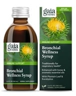 Image of Gaia Herbs - Rapid Relief Immune Support Bronchial Wellness Herbal Syrup - 5.4 oz.